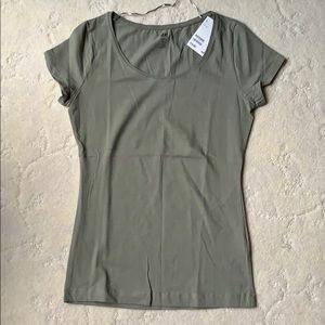 H&M Greenish/Grayish Short Sleeve Tee, NWT